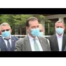 Declarații susținute de premierul Ludovic Orban la recepția lucrărilor de reabilitare prin reciclare in situ a 32 de km și montare parapeți